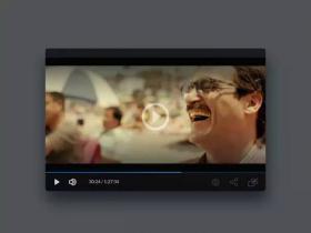 40个创意视频播放器UI设计欣赏