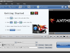 AnyMP4 MTS Converter V6.2.52 MTS格式转换软件免费版