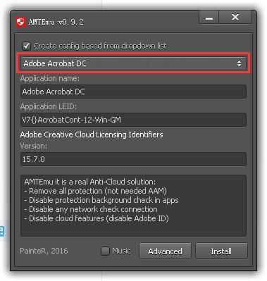 AMT Emulator 0.9.2 中文绿色汉化版(Adobe万能注册机)