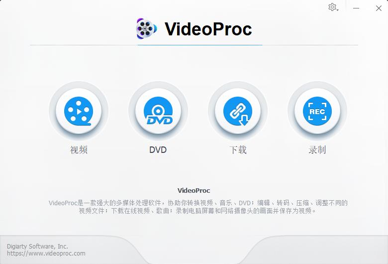 新年礼物: VideoProc - 最佳视频处理软件 限免版